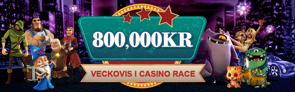 Videoslots casinorace