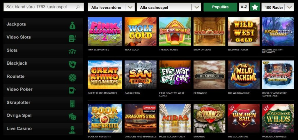 Mr Vegas Slots och casinospel
